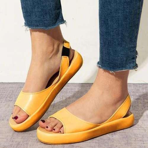 Women Shoes Faux Leather Sandals