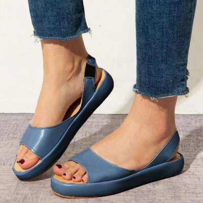 Women Shoes Faux Leather Sandals