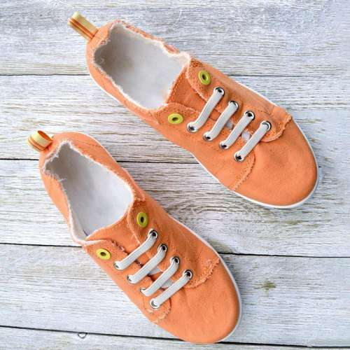 Women's Comfortable Flat Canvas Soft Sneakers