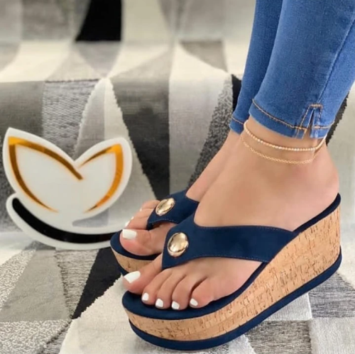 Summer Wedge Heel Sandals