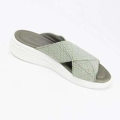 Women'S Comfort & Support Cross Slide Slippers