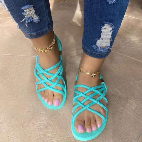 Women Fashion Comfy Rope Handwoven Sandals