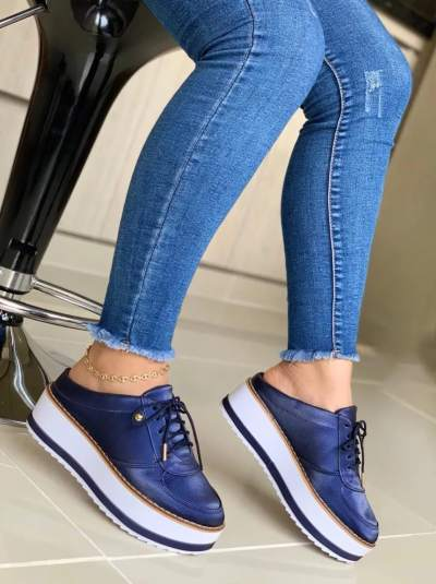 **Women'S Fashion Lace-Up Casual Slippers