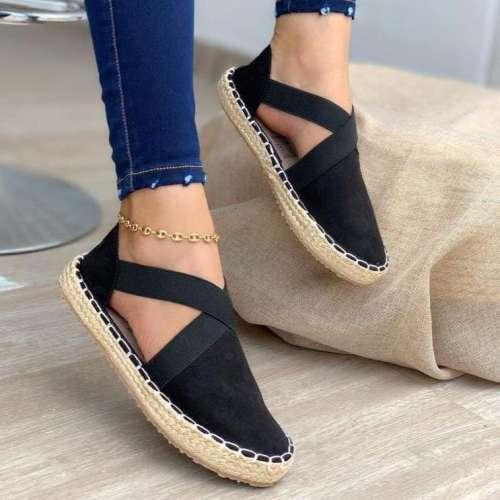 Women's Comfy Classic Flat Shoes Espadrilles Sandals