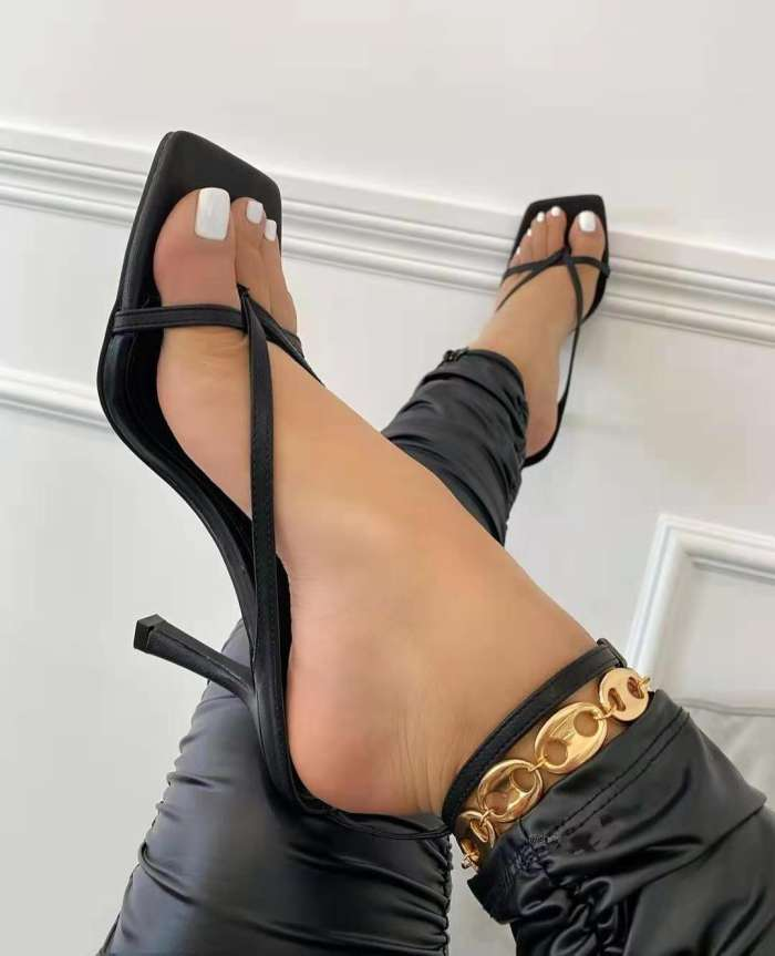 Women Casual Strap Chunky Sandals