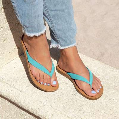 Women Slip on Thong Sandals