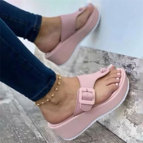 Women's Fashionable Flip Flops Comfortable Soft Slippers