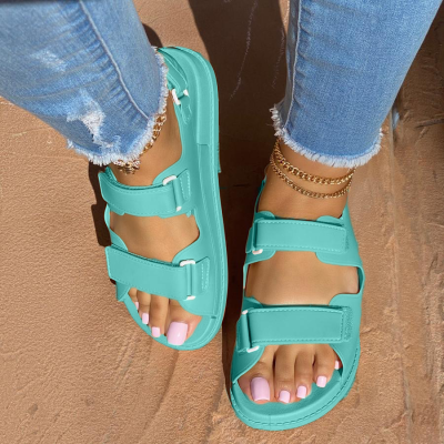 Women's Fashionable And Comfortable Velcro Sandals
