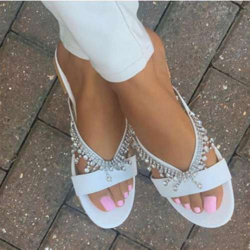 Pearl Fashion Sandals