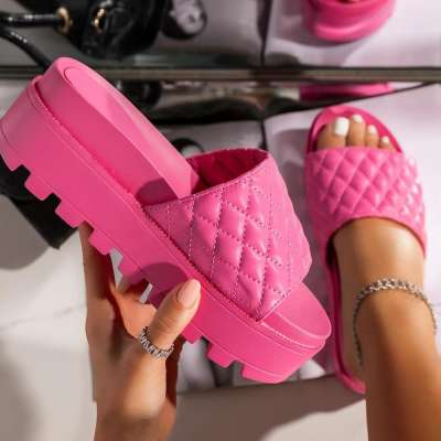 New Arrival Platform Ladies Summer Slippers