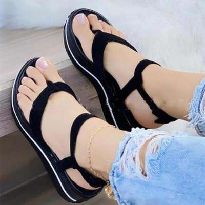 Comfy Sole Buckle Sandals