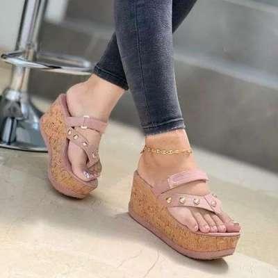 **Women's Peop Toe Wedge Sandals