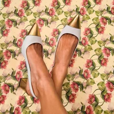 Women's Fashion Color Block Sandals