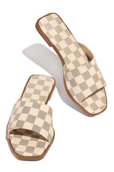 Summer Attitude Check Sandal
