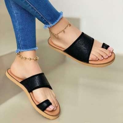 Women's Comfy Soft Sole Toe Loop Sandals Slippers