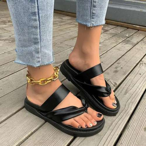 Women's Comfy Platform Flip-flops Sandals