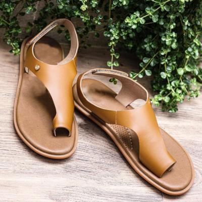 Women's Fashionable And Comfortable Velcro Flip-Flop Sandals