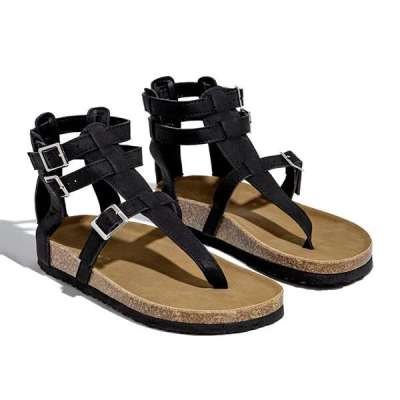 Casual Toe Loop Detailing Jelly Sandals