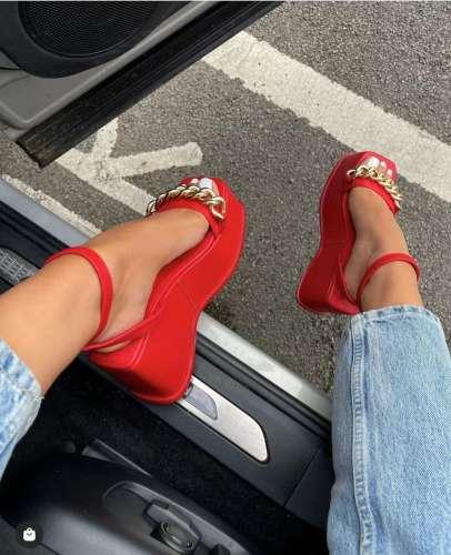 Women Hot and New In Wedge Heel Sandals