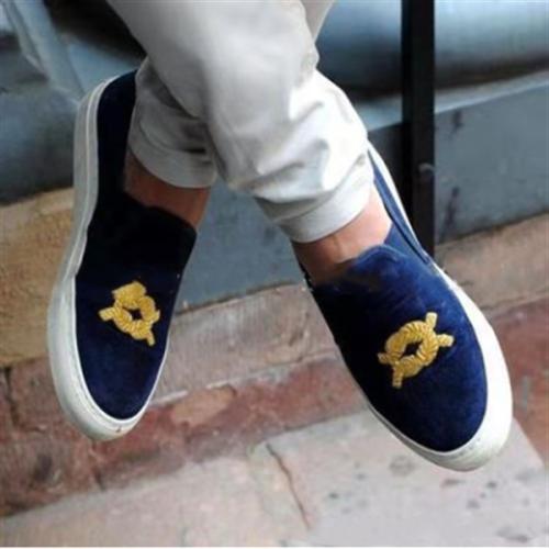 Four Seasons Printed Casual Men's Shoes