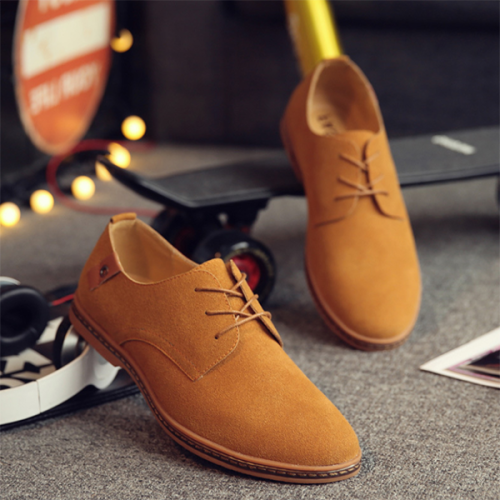 Men Casual Fashion Suede Leather Shoes
