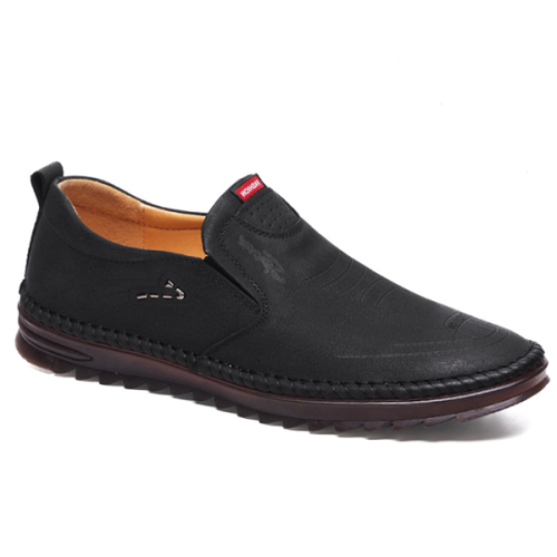 Men's New Casual Soft Leather Breathable Business Shoes