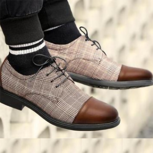 Men's Simple and Handsome High-top Fashion Leather Boots