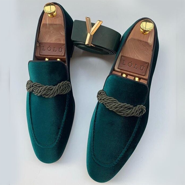 Men's Casual Fashion Business Suede Leather Shoes