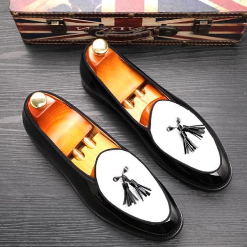 Fashion Trend Tassel Men's Leather Shoes