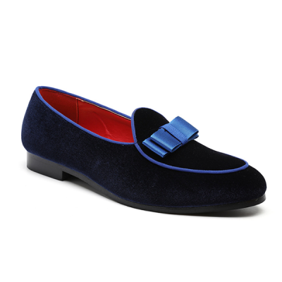 Men's Personalized Suede Bow Trend Shoes