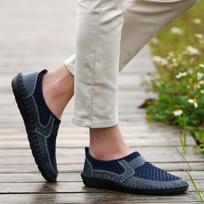Men's Summer Breathable Casual Leather Shoes