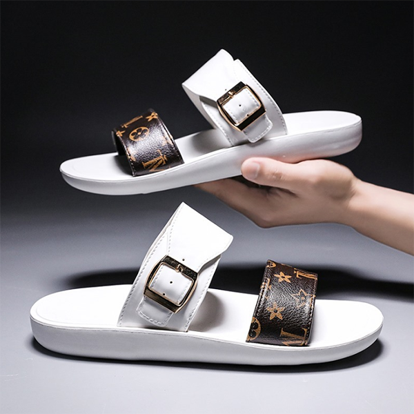Summer Breathable Casual Metal Buckle Sandals