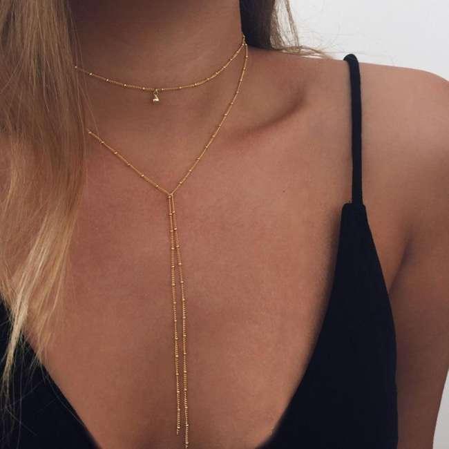 Exquisite Y Lasso Necklace
