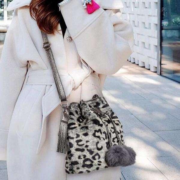 New Fashion Cony Hair Shoulder Bag Handbag