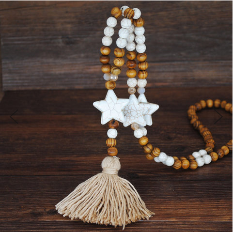 Vintage Boho Long Necklace