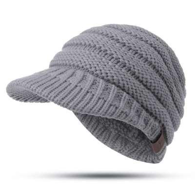 Womens Winter Warm Thicken Ponytail Beanie Hat