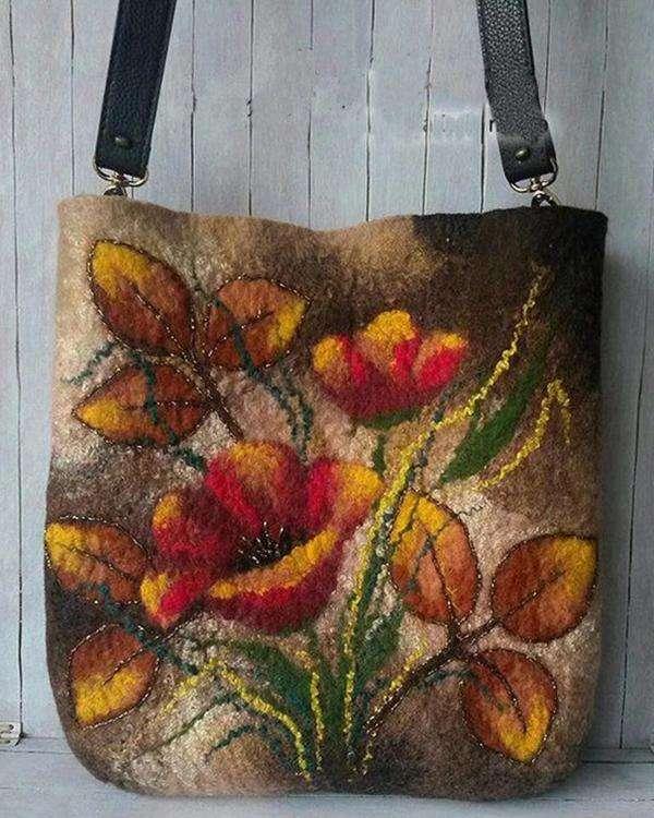 Women Colorful Crossbody Bag