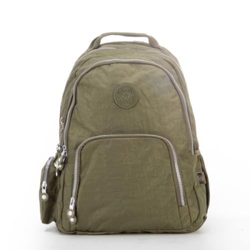 New Style Waterproof Nylon Casual Multi Pockets  School Bag Travel Backpack