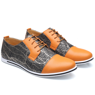 New Soft Surface Men's Handmade Fashion Leather Shoes