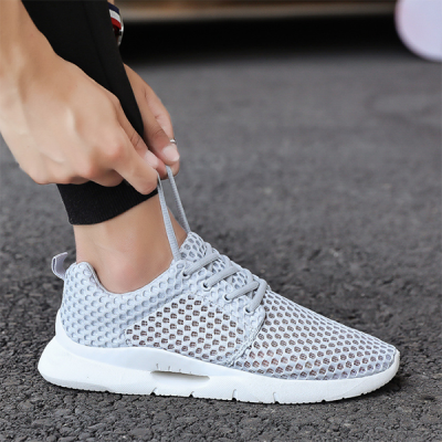 New Men's Casual Breathable Mesh Trendy Sneakers