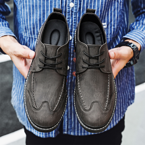 New Low-cut Retro Martin Leather Shoes