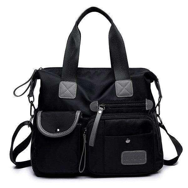 Nylon Waterproof Large Capacity Handbag Crossbody Bag