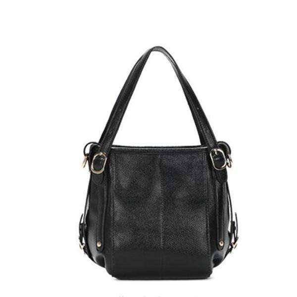 Women Genuine Leather Large Capacity Handbag Crossbody Bag