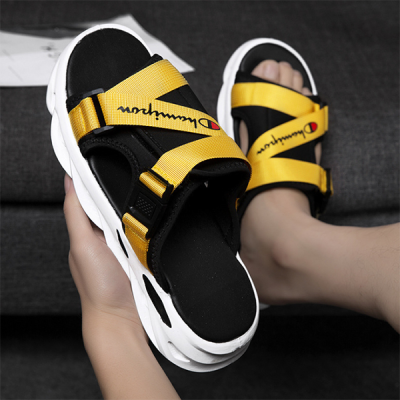 Summer Men's Shoes Fashion Personality Champion Casual Beach Sandals