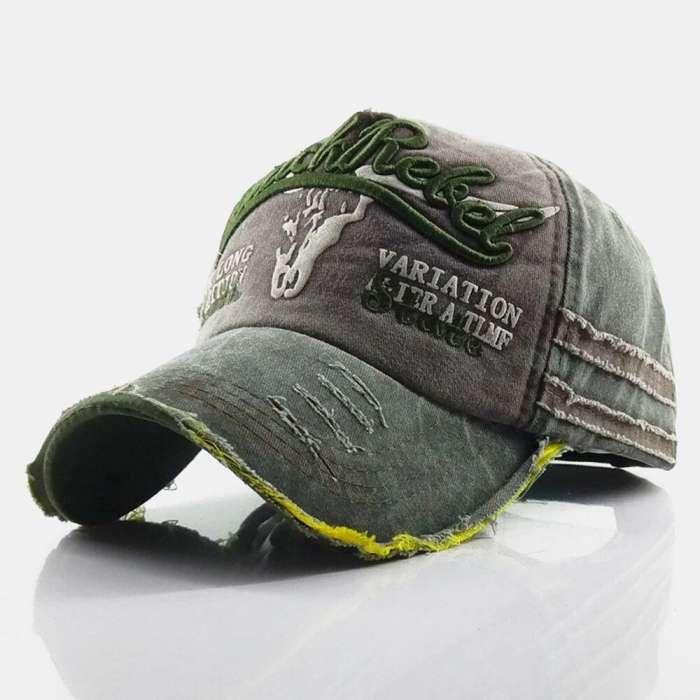 Baseball Cap Retro Sun Hat Embroidery Hats