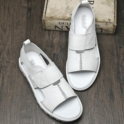 Summer Flat Round Toe Men's Casual High-Top Sandals