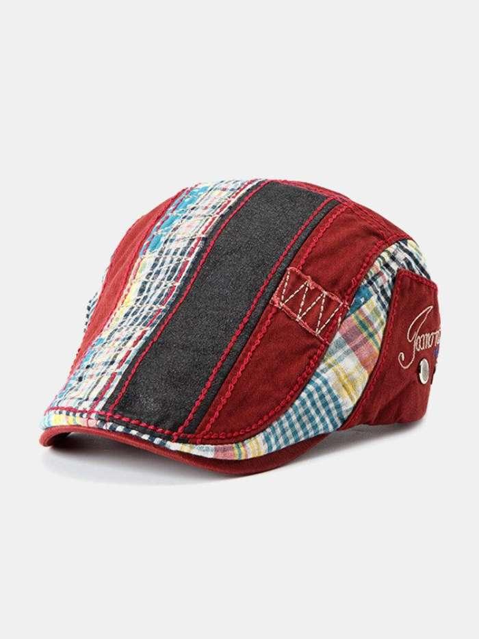 Men Women Cotton Beret Cap Casual Outdoor Visors Sun Hat