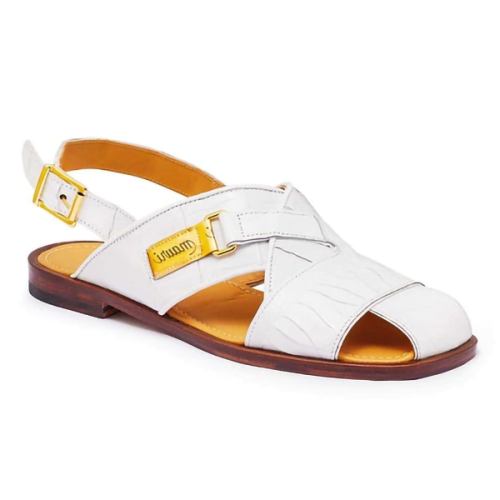 New Summer Flat-bottomed Hollow Buckle Casual Men's Sandals