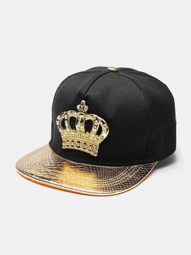 Men Women Snapback Hats Crown KING Baseball Caps Adjustable Hip Hop Hats