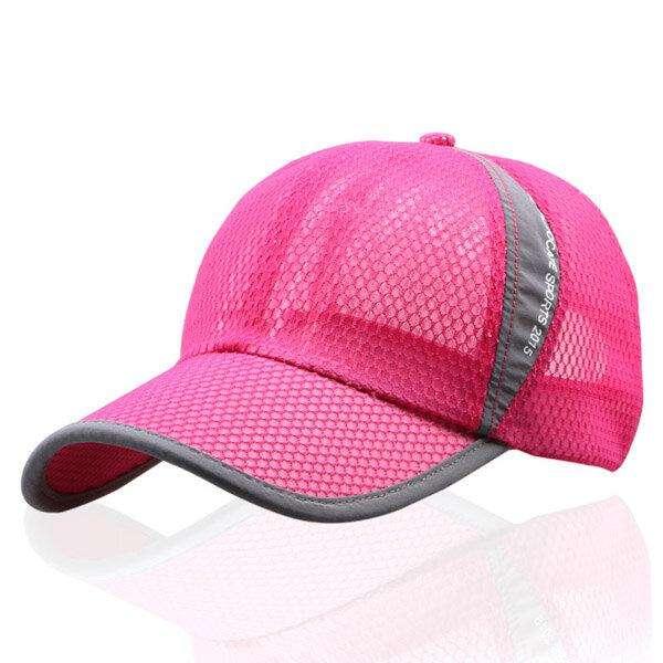 Men Women Summer Breathable Mesh Cap Outdoor Sports Shade Baseball Cap